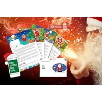 £3.99 instead of £8.49 (from Big Santa Letter) for a personalised letter and text message from Santa including an activity pack - save 53% + DELIVERY INCLUDED! - Activity Gifts