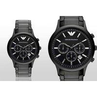 £129 instead of £389 for a men's Emporio Armani watch from Gray Kingdom - save 67% - Armani Gifts