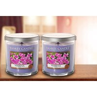£9.99 instead of £18.99 (from Yankee Candle) for a pair of Yankee Candle Verbena pillar candles - save 47% - Seek Gifts