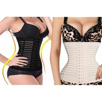 £8 instead of £59 for a hourglass corset - choose from four sizes in black or nude from Boni Caro - save 86% - Corset Gifts