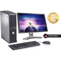 £129 instead of £696.01 (from IT Trade UK) for a Dell Optiplex 755 Core 2 Duo with monitor, keyboard, mouse and cables - save 81% - Computers Gifts