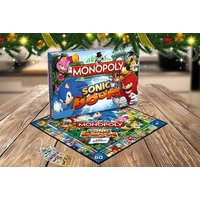 £12 instead of £34.51 (from Stortford Toys) for Sonic-themed Monopoly board game - save 65% - Board Game Gifts