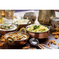 £19 for three-course Indian dining for two people at Bredbury Hall Hotel - Indian Gifts