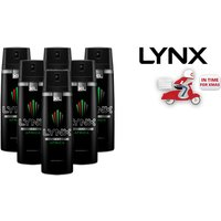 £12 instead of £24.41 for a six pack of 200ml Lynx Africa body sprays - save 51% - Africa Gifts
