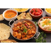 £13 for a £25 voucher for two or more people to spend on food and drink at India Gate, £25 for a £50 voucher for four or more people to spend - enjoy poppadoms and dips on arrival and save up to 57% - India Gifts