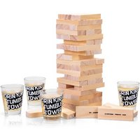 £9.99 instead of £28 (from Vivo Mounts) for a tumble tower drinking game - save 64% - Drinking Game Gifts