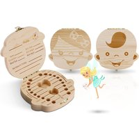 £5.99 instead of £19.99 (from Vivo Mounts) for a tooth keepsake box - choose from girl or boy and save 70% - Keepsake Gifts