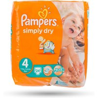 £14.99 for a set of pampers simply dry nappies available in three different sizes from Ckent Ltd - Different Gifts