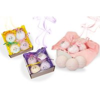 £8 instead of £16 for four luxury bath bombs - mix and match from six scents from Pretty Parrot LTD - save 50% - Parrot Gifts