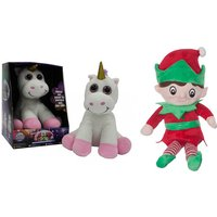 £8 instead of £16 (from Object Products) for a glowing unicorn or elf teddy - save 50% - Teddy Gifts