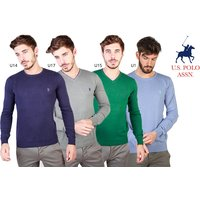 £29 instead of £89.90 (from Brands Distribution) for a U.S Polo men's sweater - choose from 17 styles and save 68% - Brands Gifts