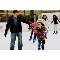 £6 for a session of ice skating for one person, £12 for two people or £17 for a family of four at Deeside Ice Rink, Flintshire - save up to 40% - Ice Skating Gifts