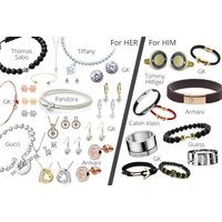 £8 (from Gray Kingdom) for a mystery jewellery deal for him or her - Gray Kingdom, Pandora, Thomas Sabo, Guess, Calvin Klein, Armani and more! - Pandora Gifts