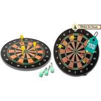 "£9.99 instead of £21 (from Funky Buys) for a 16"" magnetic dart board with six darts, or £14 for an 18"" dart board - save up to 52% - Darts Gifts"