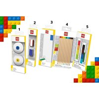 From £4.99 (form Anielas) for an item of LEGO® stationary - select from nine items, including pencil cases, erasers, pens, journals and more! - Stationary Gifts