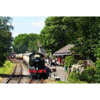 £62 for a Somerset steam train ride with sparkling afternoon tea for two people from Buyagift! - Train Gifts