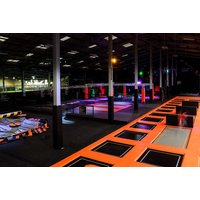£10 for one hour of air zone and kick zone crossover time, £17 for two hours, at Kick Air, Manchester – use ninja courses, trampolines and footie games! - Games Gifts