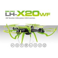 £45 instead of £129.99 for an lh-x20wf remote-control quadcopter drone - choose from three colours from Toys Wizard - save 65% - Drone Gifts