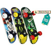 £7.98 instead of £22 (from Funky Cart) for a kids' mini skateboard - save 64% - Skateboard Gifts