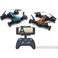 From £49 for a remote-controlled flying quadcopter drone, or £59 for a drone with camera from Toys Wizard - save up to 62% - Drone Gifts