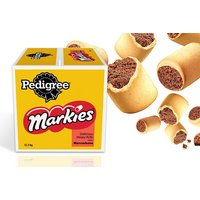 £31.99 instead of £36.89 for a 12.5kg box of Pedigree Markies biscuit dog treats - save 13% - Pets Gifts