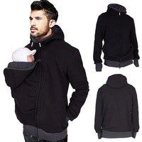£15.99 instead of £36 (from Charles Oscar) for a 'kangaroo' baby-holding zipped hoodie - save 56% - Kangaroo Gifts