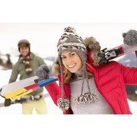 £35 for a 3-hour group skiing or snowboarding lesson for one person with a hot drink, £60 for two people, or £110 for four at Swadlincote Ski & Snowboard Centre - save up to 55% - Snowboarding Gifts