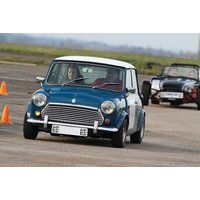 £59 for a six lap Classic Mini Cooper driving thrill at Heyford Park, Oxford from Buyagift! - Mini Cooper Gifts