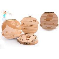 £5.99 instead of £29.99 (from MyBluFish) for a baby teeth keepsake box - save 80% - Keepsake Gifts
