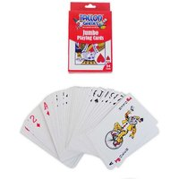 £2.99 instead of £9.99 for a pack of plastic jumbo playing cards from Ckent Ltd - save 70% - Cards Gifts