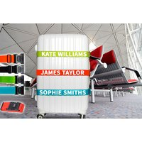From £5.99 for a personalised luggage accesories - choose from five colours from Shop Sharks - save up to 65% - Shop Gifts