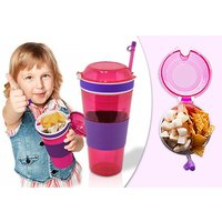 £4.99 instead of £14 (from Shop Monk) for a 2-in-1 drink and snacks cup, or £8.99 for two - save up to 64% - Shop Gifts