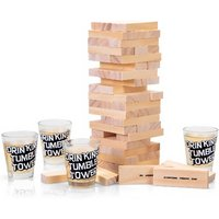 £9.99 instead of £29.99 for a tumble tower drinking game from ViVo Technologies - save 67% - Drinking Game Gifts