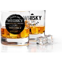 £5.49 instead of £8.91 (from CNC Group) for a novelty whisky glass - select from two designs and save 38% - Novelty Gifts