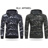 £14.99 instead of £34.99 (from Blu Apparel) for a men's camo hoodie - save 57% - Camo Gifts