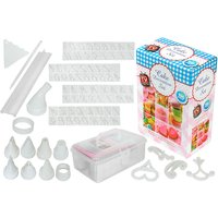 £4.99 instead of £11.99 for a 100-piece cake baking and decorating set from Ckent Ltd - save 58% - Decorating Gifts