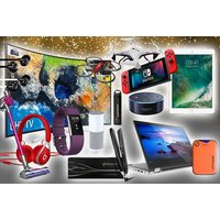 £10 (from HCI Distribution) for a mystery gadget deal - VEHO, ghd, FitBit,  Samsung curved LED TV, Lenovo laptop and more! - Ghd Gifts