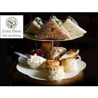 £18 for afternoon tea for two people with a mini bottle of Prosecco each, or £35 for four people at Cosy Dove, Newcastle - Newcastle Gifts