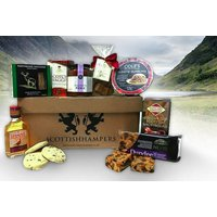 £29 instead of £70.80 for a Scottish foods hamper including Famous Grouse whisky, haggis, shortbread and more from Scottish Hampers - save 59% - Hampers Gifts