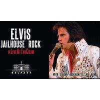 £12.50 instead of £21 for a ticket to a 'Jailhouse Rock' Live Elvis tribute concert at Crumlin Road Gaol, £25 for two tickets, or £50 for four tickets - save up to 40% - Elvis Gifts