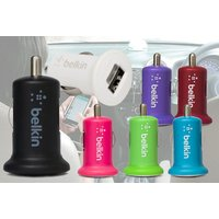 £3.99 instead of £12.99 for an Belkin universal micro USB car charger in blue, green, purple, pink, red or white from Ckent Ltd - save 69% - Usb Gifts