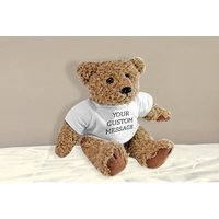 £8.99 instead of £19.95 (from Fill My Space) for a personalised teddy bear - save 55% - Teddy Gifts