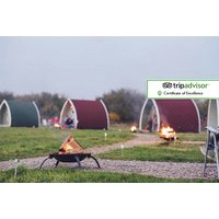 £39 (at Stanley Villa Farm Camping) for an overnight glamping stay for a family of up to four, £49 for two nights - save up to 34% - Camping Gifts