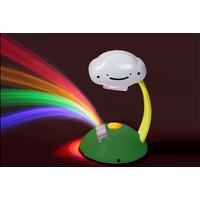 £6.99 instead of £24.95 (from Direct 2 Public) for a LED rainbow night light projector lamp - save 72% - Rainbow Gifts