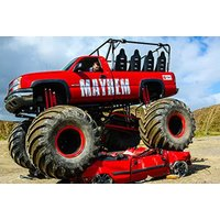 £35 for a monster truck ride experience for 2 from Red Letter Days - Monster Truck Gifts