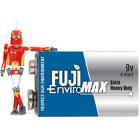 From £4 for a pack of 2 or 6 (£10) Fuji carbon zinc 9v, eco friendly batteries from Fuji EnviroMAX UK - Eco Friendly Gifts