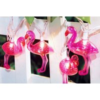 £8.99 instead of £19.99 (from Groundlevel) for 10 flamingo string lights, £10.99 for 20 or £14.99 for 30 - save up to 55% - Lights Gifts