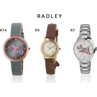 From £24.99 (from Brand Arena) for a ladies Radley watch - choose from 15 designs and save up to 75% - Radley Gifts