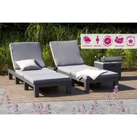 £79 instead of £180 (from Home Decoration & Fashion) for a rattan-effect Daytona sun lounger, or £169 for two sun loungers - save up to 60% - Sun Gifts