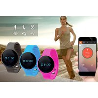 £7.99 instead of £19.99 for a 9-in-1 touchscreen bluetooth activity tracker in black, blue or pink from Ckent Ltd - save 60% - Activity Gifts